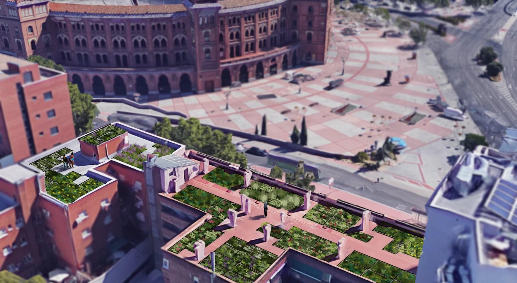 cubiertas vegetales Madrid